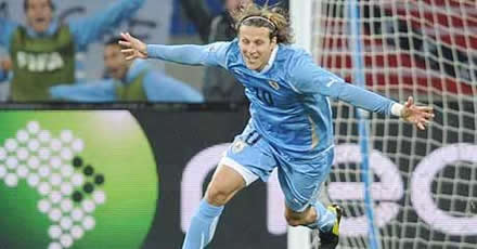 Forlan showed nerves of steel to stare down vuvuzelas