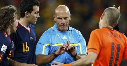 Howard Webb: My two hours of hell